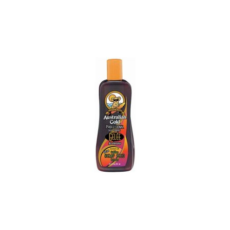 australian gold gelee dark tanning accelerator with hemp seed lotion