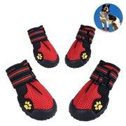 Petacc Pet Boots Breathable Pet Mesh Shoes Non-slip Dogs Shoes