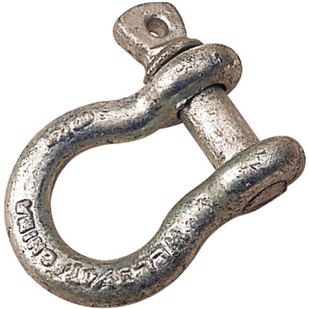 Sea Dog Screw-Pin Anchor, Bow Shackle, Load Rated, 3/8