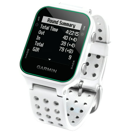 garmin 010 03723 00 approach s20 gps golf watch white. Black Bedroom Furniture Sets. Home Design Ideas