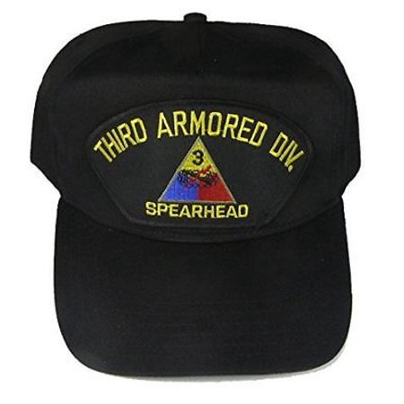 US ARMY 3RD THIRD ARMORED DIVISION AD SPEARHEAD CAP HAT VETERAN