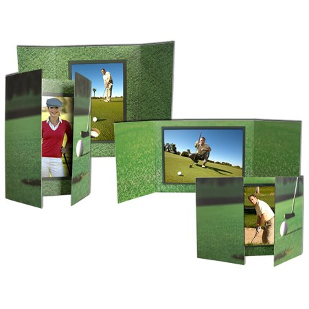Gate Fold Golf Folders For 4x6 Horizontal (25 Pack)