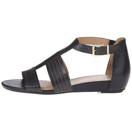 736461238375 Naturalizer - Womens Longing Leather Open Toe Casual T-Strap Sandals -  Walmart.com