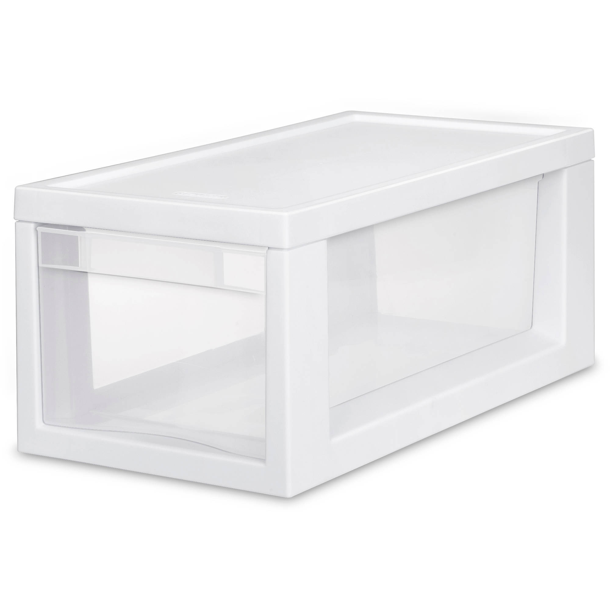 Sterilite Narrow Modular Drawers- White (Available in Case of 6 or Single Unit)
