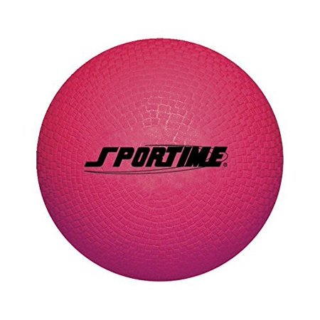 Playground Ball - 10 inch - Red, Regulation official size football for gym, classroom, or field activities By School Smart