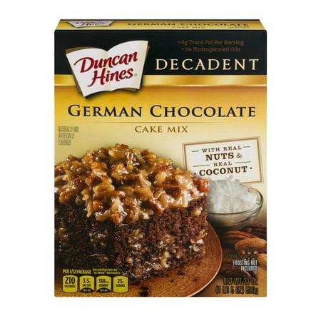 German Chocolate Cake No Nuts