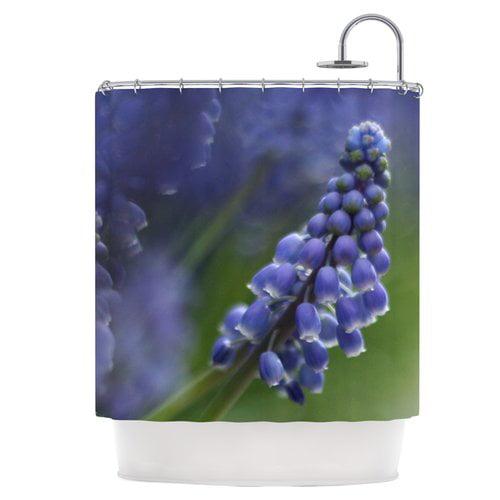 East Urban Home Grape Hyacinth Shower Curtain