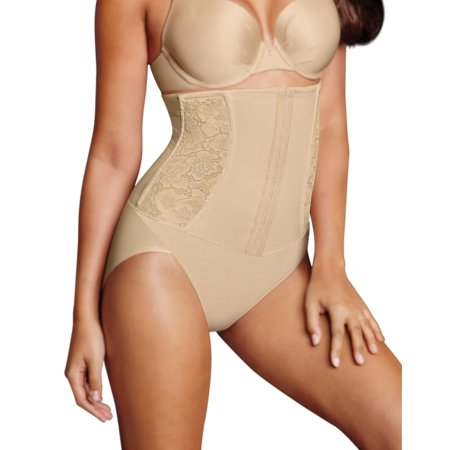 Maidenform Womens Firm Foundations Waist Nipping Brief, XL, Latte Lift Combo - image 1 of 1
