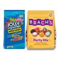 Hard Candy Pack - Brach's Mixed Candy, 5 lbs., Jolly Rancher Assorted Hard Candy, 5 lbs. Perfect For All Ocassions Halloweeen, Back to school, Thanksgiving, Christmas, New Years