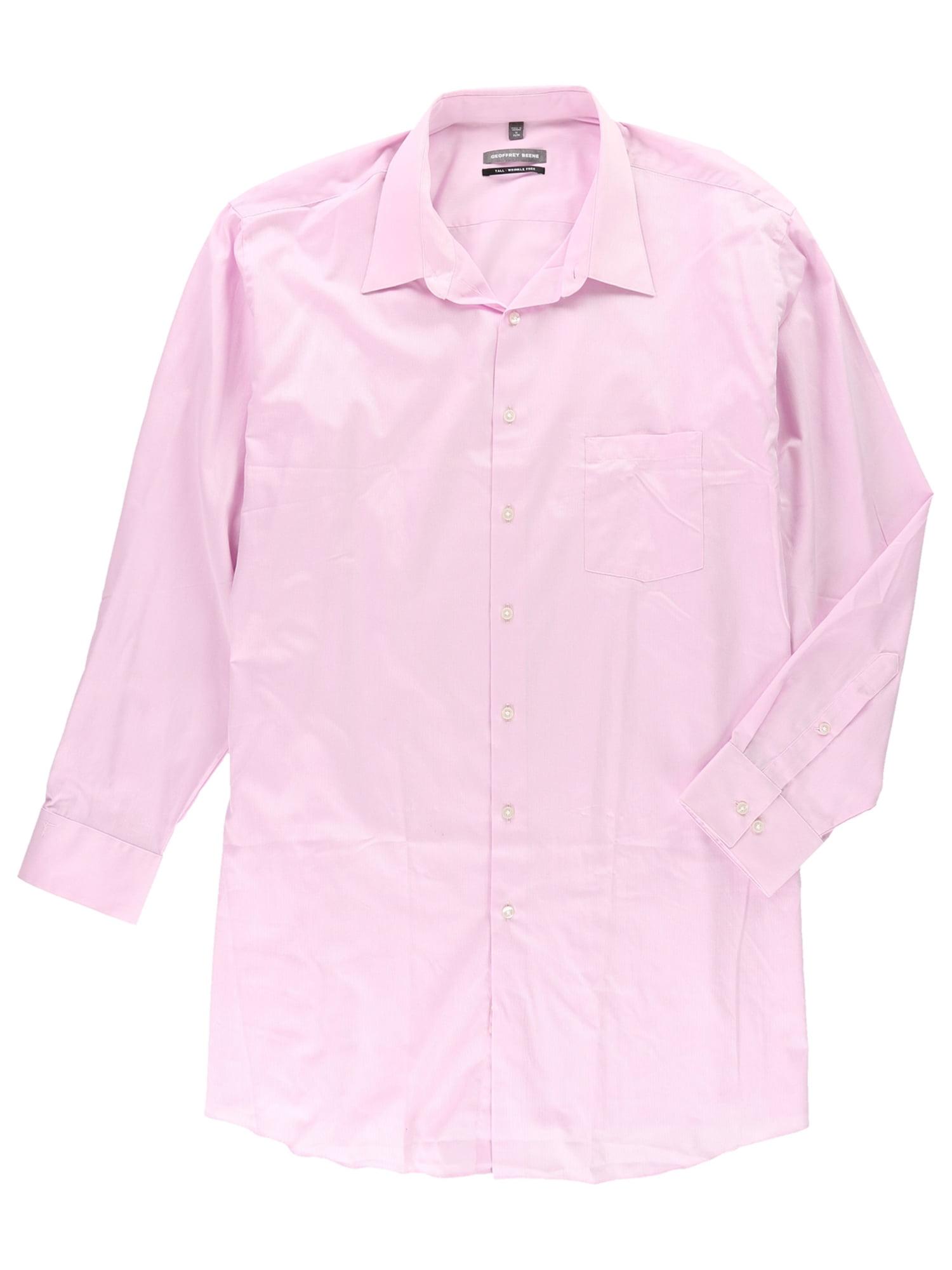Geoffrey Beene Geoffrey Beene Mens Wrinkle Free Button Up Dress