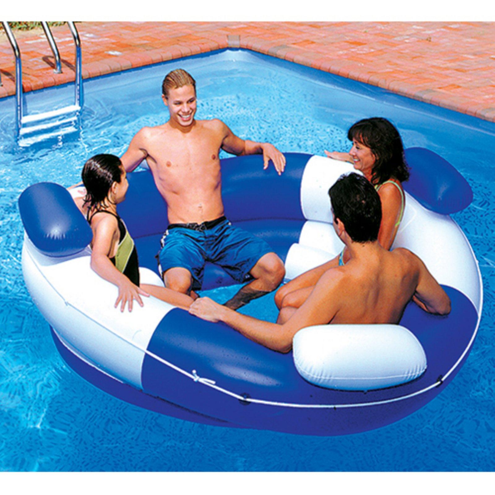 Swimline Sofa Island Lounger Pool Float for Swimming Pools