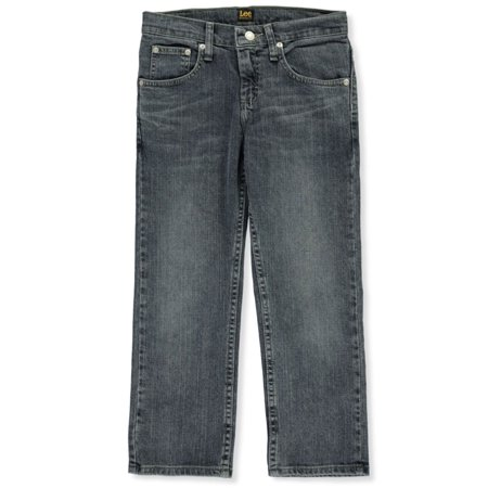 Lee Boys' Husky Size Dalton Straight Leg Jeans (Big Boys Husky)