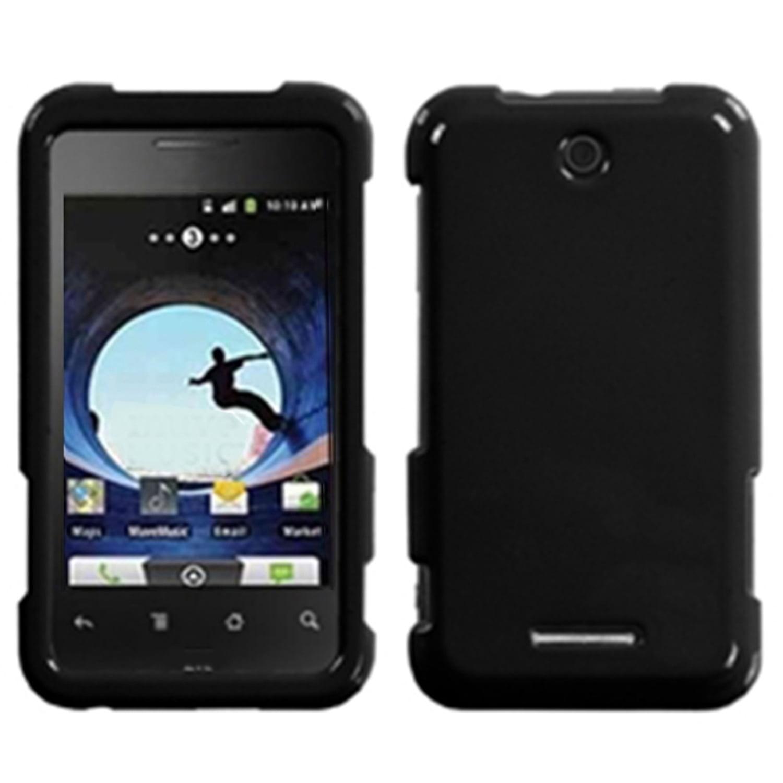 Insten Natural Black Phone Case for ZTE: X500 (Score)