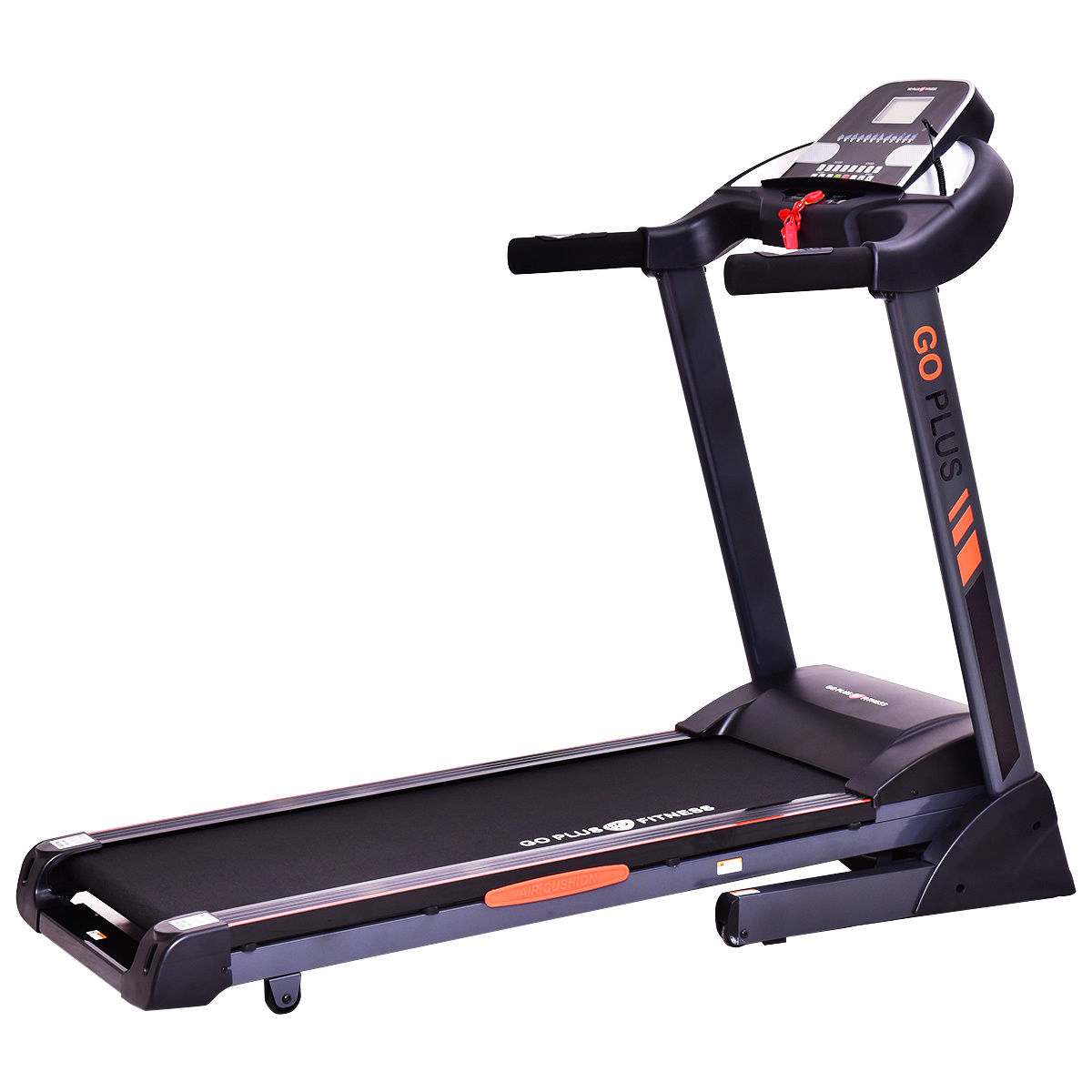 Costway 2.5HP Folding Treadmill Electric Support Motorized Power Running Fitness Machine