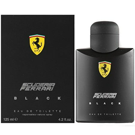 Ferrari Black Men Eau-de-toilette Spray by Ferrari, 4.2 Ounce(Packaging may (Full Name Of Ferrari)