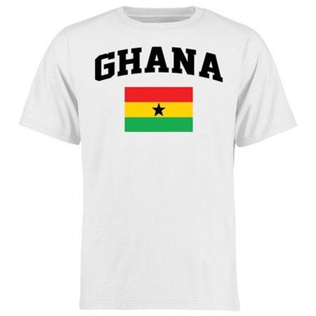Ghana Youth Flag T-Shirt - White
