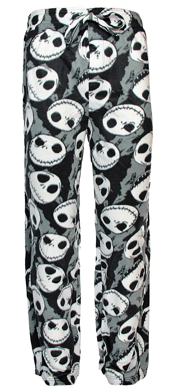 Disney Nightmare Before Christmas Mens Pajamas JACK SKELLINGTON LOUNGE PANTS