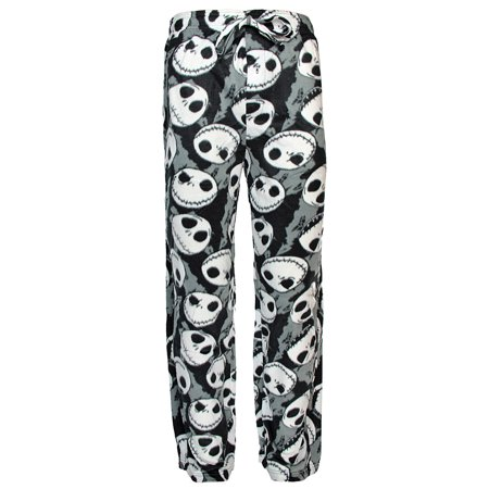 Disney Nightmare Before Christmas Jack Skellington Fleece Lounge Pajama - Nightmare Before Christmas Clothing