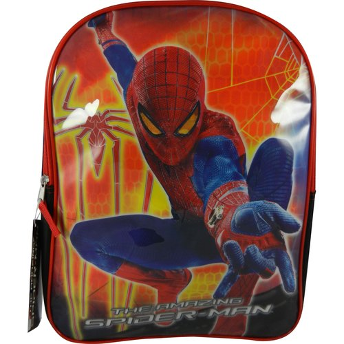 Marvel Spiderman Backpack Amazing Spider-Man Sport School Travel Back Pack