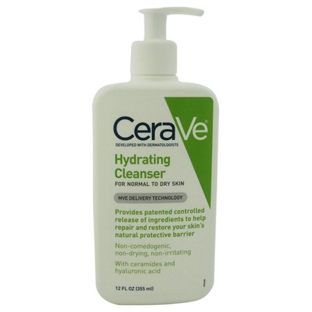 Hydrating Cleanser - Normal To Dry Skin by CeraVe for Unisex - 12 oz Cleanser - image 1 of 1