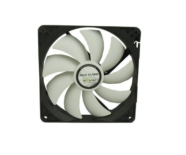 Gelid CC-SnowStorm-01 Solutions SnowStorm 92mm Silent Fan with Intelligent PWM Control