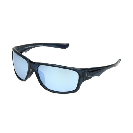 668fcc2471 Foster Grant - Foster Grant Men s Blue Polarized Mirrored Wrap Sunglasses  LL02 - Walmart.com