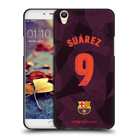 OFFICIAL FC BARCELONA 2017/18 PLAYERS THIRD KIT 1 BLACK SOFT GEL CASE FOR OPPO PHONES