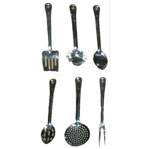 Poker 80-1701 6 Piece Happy Campert - Stainless Utensil Set