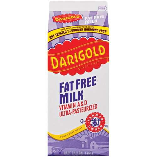 Darigold Fat Free Milk With Vitamin A & D, 64 fl oz