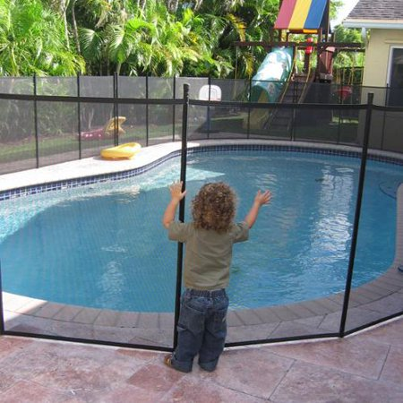 Water Warden Pool Safety Fence Walmart Com