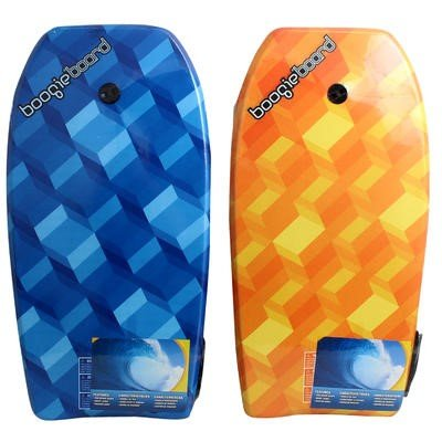 "Click here to buy Fiber clad Body Board, 33"" L, (Colors Vary), Measures 33 long By Boggie Board."