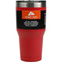 Ozark Trail Double Wall 30 Oz Vacuum Sealed Tumbler (Red)