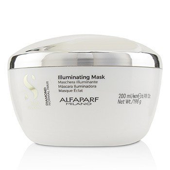 AlfaParf - Semi Di Lino Diamond Illuminating Mask (Normal Hair) - 200ml/6.98oz