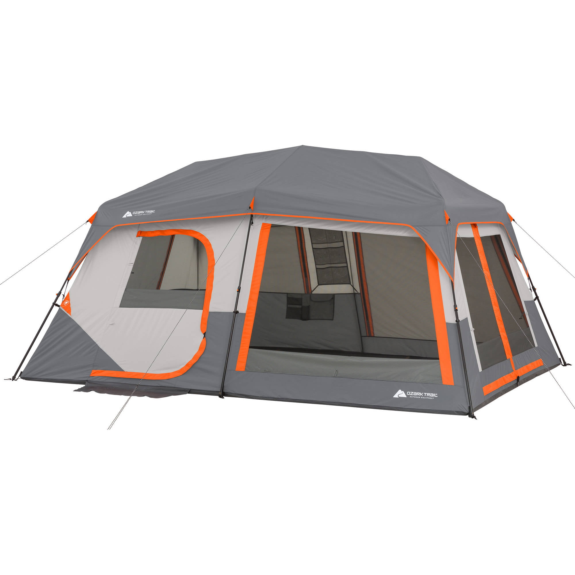 "Click here to buy Ozark Trail 14' x 10' x 78"" Instant Cabin Tent with Light, Sleeps 10 by Bohemian Travel Gear Limited."