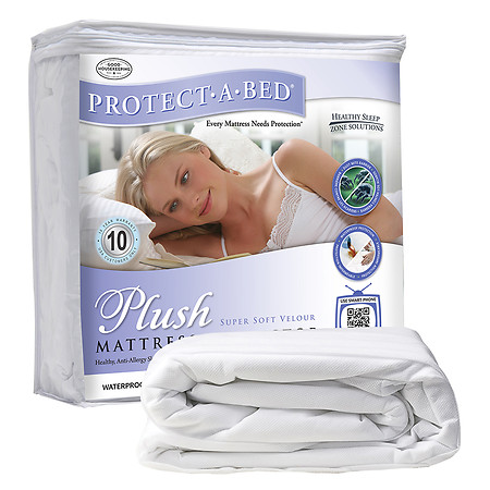 Protect-A-Bed PLUSH Velour Top Twin XL Mattress Protector