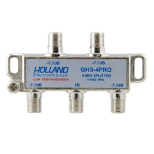 Holland 4-Way Digital Cable Splitter 2Pack