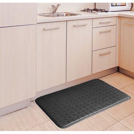 Classic Anti Fatigue Mats (GPCT Anti-Fatigue Kitchen Mat, Black )