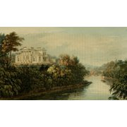 Repository of Arts 1817 Seat of GB Greenough Regents Park Canvas Art - Unknown (24 x 36)