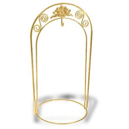 National Artcraft Ornament Display Stand with Double Arch and Center Hook - Define Ornaments