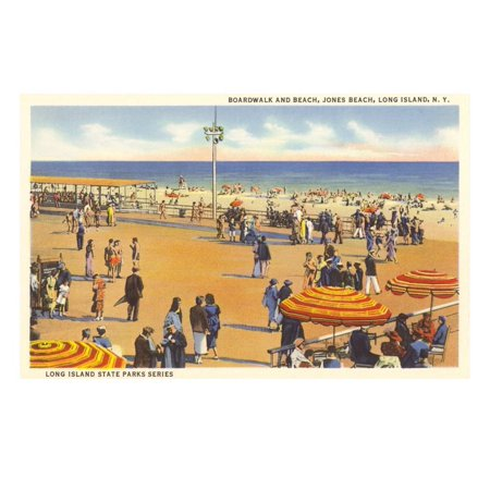 Jones Beach, Long Island, New York Print Wall Art