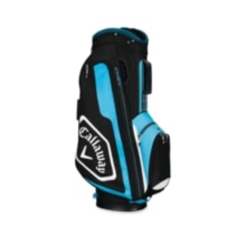 Callaway CHEV Cart Golf Bag Black/Blue/White