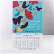 Christian Art Gifts 360840 Calendar 2016 Mini Magnetic Let Heaven And Earth Praise The Lord