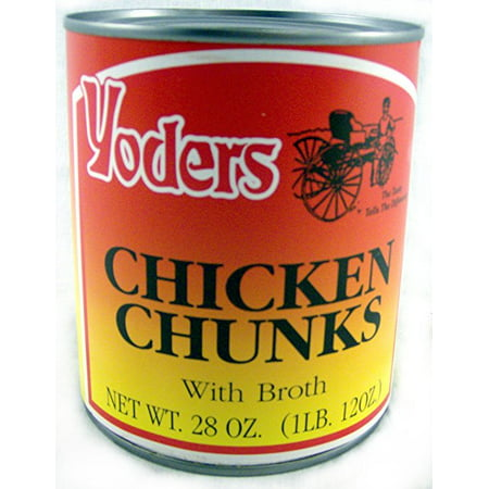 Cooks Hat (Yoders Fully Cooked Canned Chicken Chunks, 28)