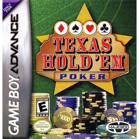 Texas Hold 'Em Poker for Gameboy Advanced (Best Gameboy Classic Games)