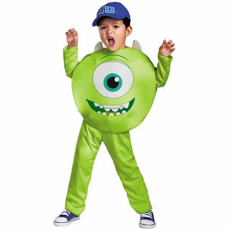 Mike Child Halloween Costume - Womens Mike Wazowski Costume