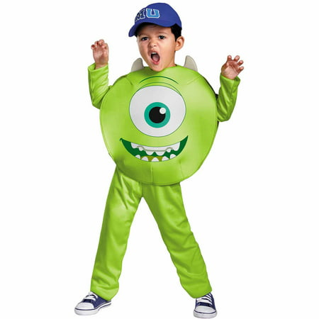 Mike Child Halloween Costume - Monsters University Mike Halloween Costume