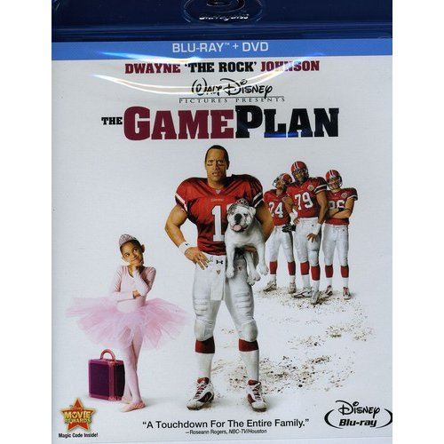 The Game Plan (Blu-ray + DVD) (Widescreen)