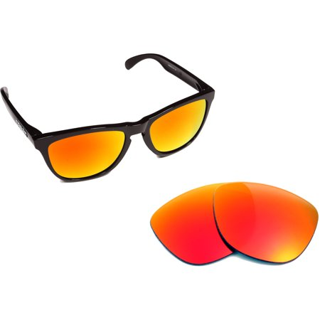 Replacement Lenses Compatible with OAKLEY Frogskins Non-Polarized Red (Frogskins Sale)