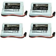 Synergy Digital Cordless Phone Batteries - Replacement for Sony BP-T38 Cordless Phone Battery (Set of 4)