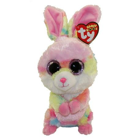 TY Beanie Boos - LOLLIPOP the Bunny (Glitter Eyes) (Regular Size - 6 inch)